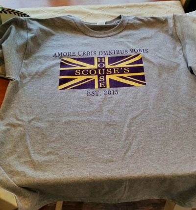 Scouse's House t-shirt